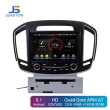 JDASTON Android 8,1 автомобильный dvd-плеер для Opel Vauxhall Holden Insignia 2014-2017 Din Автомобильный Радио gps навигация Мультимедиа Стерео