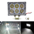 1Pcs 18W 6500K LED Work Light Flood Driving Lamp for Car Truck Trailer SUV Offroad Driving Fog Boat 12V 24V Spot Flood Headlight
