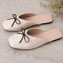 3ec7b4201 Sólida Borboleta-nó sapatos femininos mulheres calçado famoso designer  loafers marca do dedo do pé