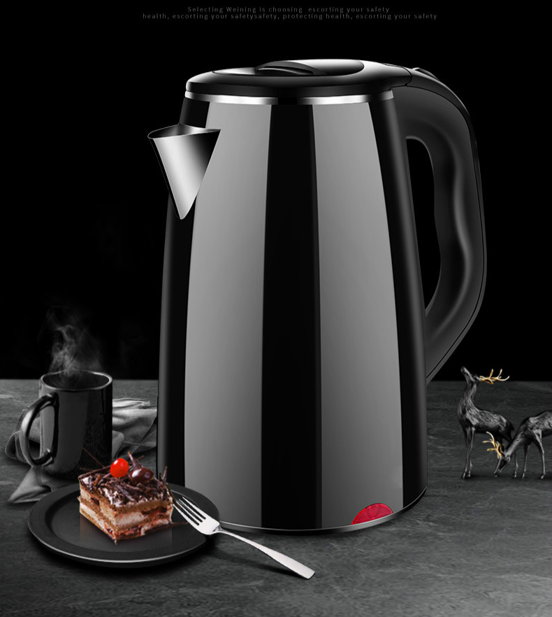 NEW Electric kettle household automatic power cut off dormitory large capacity electric small open thermal heating small power electric kettle cup in the student dormitory of double decker