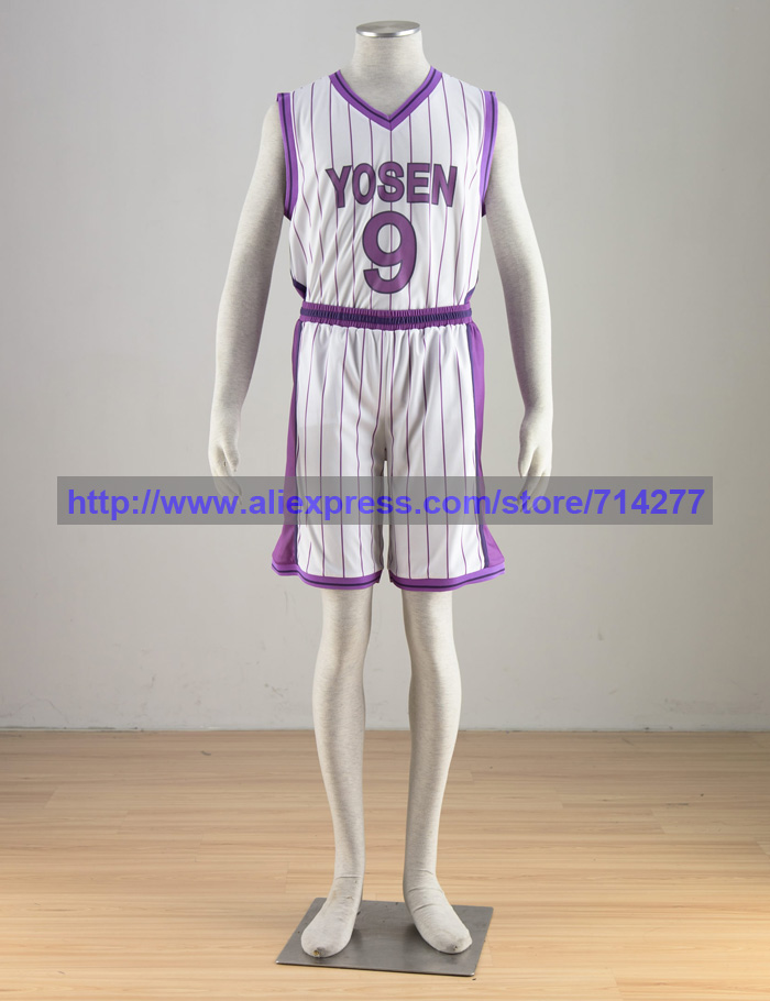 Murasakibara Atsushi Cosplay Costume From Kuroko's Basketball Anime Halloween Christmas Party Birthday Gift