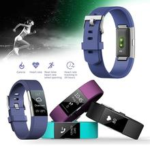 Cewaal NEW S18 Colorful Waterproof Bluetooth Smart Bracelet Wristband Sports Pedometer Heart Rate Sleep Monitor