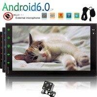 Поддержка gps навигация SWC DVR CAM в 1080 P Зеркало Ссылка Wi Fi 3g 7 дюймов QUAD Core Android 7,1 головное устройство Eincar 2 din автомобиля