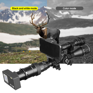 Image 2 - Visión Nocturna 960P vista al aire libre alcance día noche al aire libre caza cámaras WIFI linterna de conexión infrarroja Digital táctica