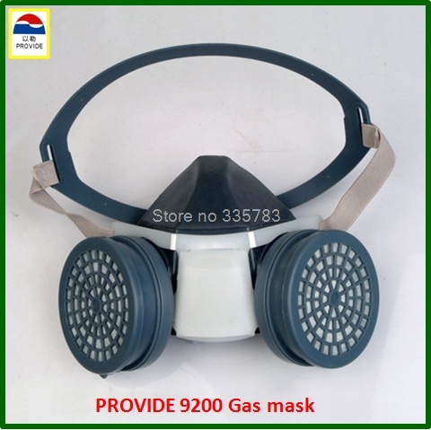 PROVIDE respirator gas mask high quality Practical type protective mask pesticide chemical respirator face mask provide respirator mask respirator mask silica gel dustproof gas masks boxe industrial safety chemical gas mask