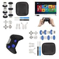 Full Set Replacement Bumper Trigger Nút Mái Chèo Elite Đối Với XBOX One Điều Khiển Gamepad Thay Thế Thumbstick Joystick Mũ