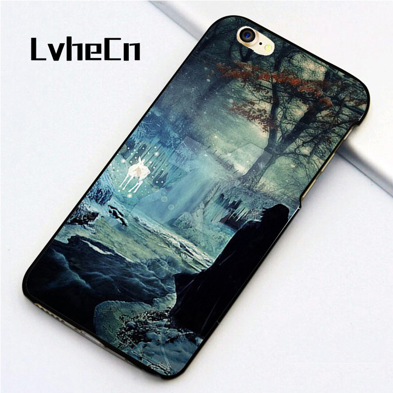 LvheCn 5 5S SE phone cover <font><b>cases</b></font> for <font><b>iphone</b></font> 6 6S 7 <font><b>8</b></font> Plus X back skin shell <font><b>harry</b></font> <font><b>potter</b></font> deathly hollow image
