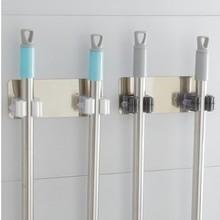 Настенный держатель швабры щетка метла вешалка для хранения шкаф-органайзер для кухни навесной аксессуар Висячие чистящие средства