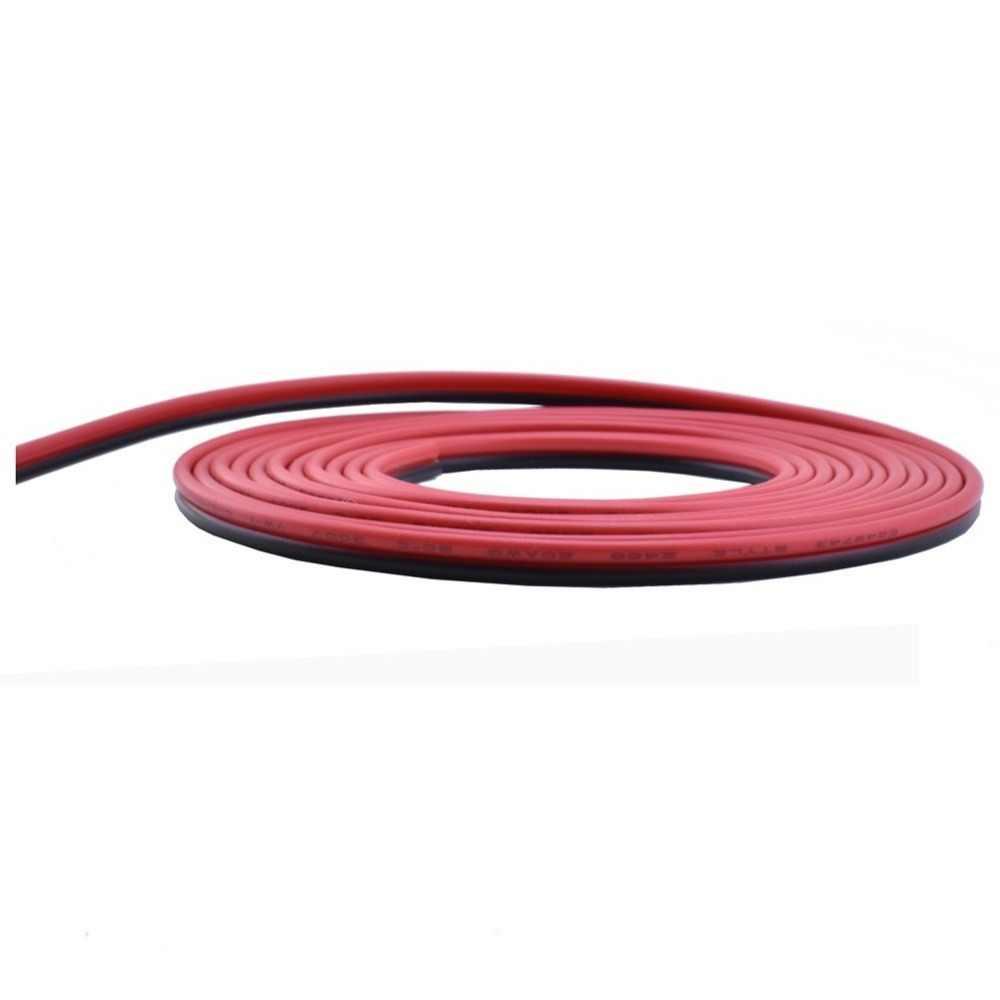10 m 20 m 30 m 2pin 20 AWG UL2468 2*0.5mm câble d'extension utiliser pour 12 v 24 v LED bande bande chaîne connecter fil électrique