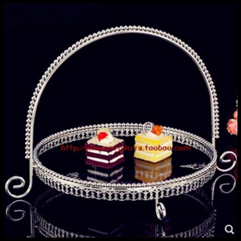 1 pièces européen fruits assiette mariage gâteau assiette anglais après-midi thé snack assiette
