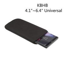 Case universal de neoprene, capinha para oneplus 5 5t 6 6t 7 7t pro 1 + 5 sacos de telefone 5t 6 6t 7 7t pro x, 4.1