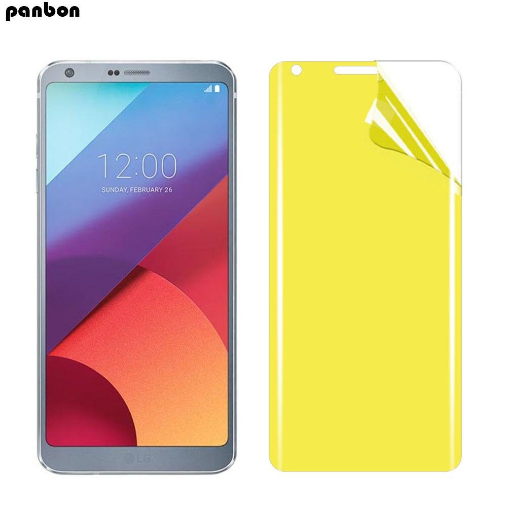 3D Full Coverage For LG G6 Hydrogel Film Soft TPU Screen Protector for LG G6 H870 H871 H870K US997 nano Film
