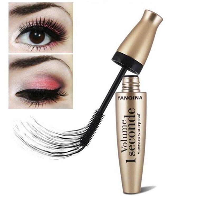 Image 2 - 3D Fiber Mascara Long Black Lash Eyelash Extension Waterproof Eye Makeup Tools rimel para cilios mascara facial waterproof cilio-in Mascara from Beauty & Health