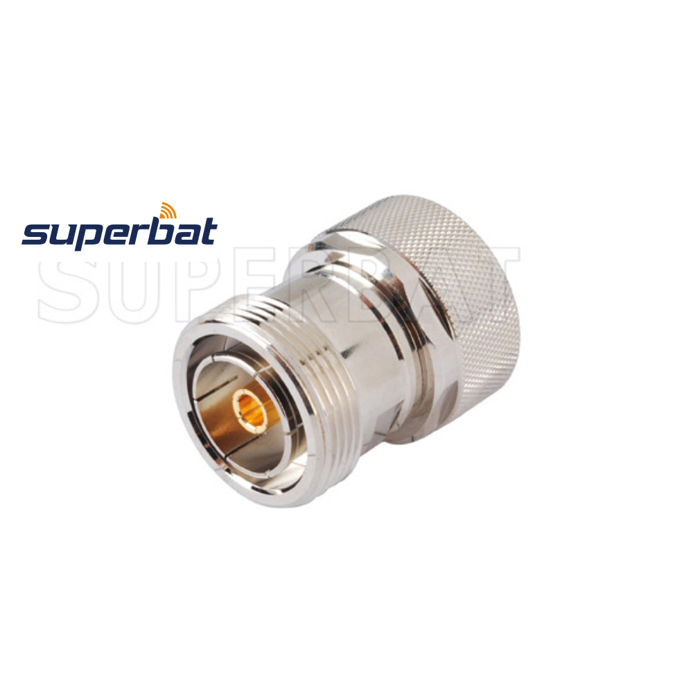 Superbat 5pcs RF  7/16 Din Adapter Plug Male To Jack Female Straight RF Adapter Free Shipping