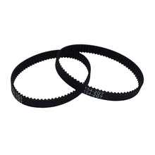 2GT-6 2/5/10PCS Rubber Timing Belt 308/320/336/340/348/350/376/390/392/396/400mm Length 6/9mm Width For 3D Printing