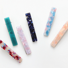 1pcs Hot Sale Resin Acetate Hair Clip for Women Barrettes Hair pin Hairgrips Hair Styling Accessories For Girls Headwear Gifts new hot resin acetate hair clip women hair accessories hair clip girls hair pins sweet daily headwear barrette for women girls