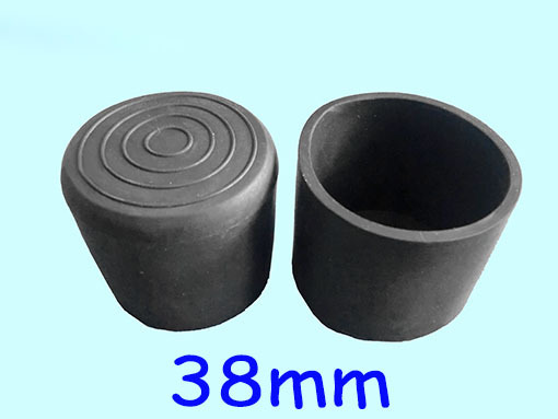 38mm Furniture Feet Leg Protector Outdoor Pile Pole Cap Covering 1u00261/2 Inch  Round Pipe