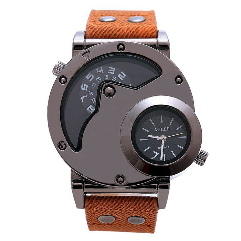 high end 2 dials sports 2017 luxury trendy