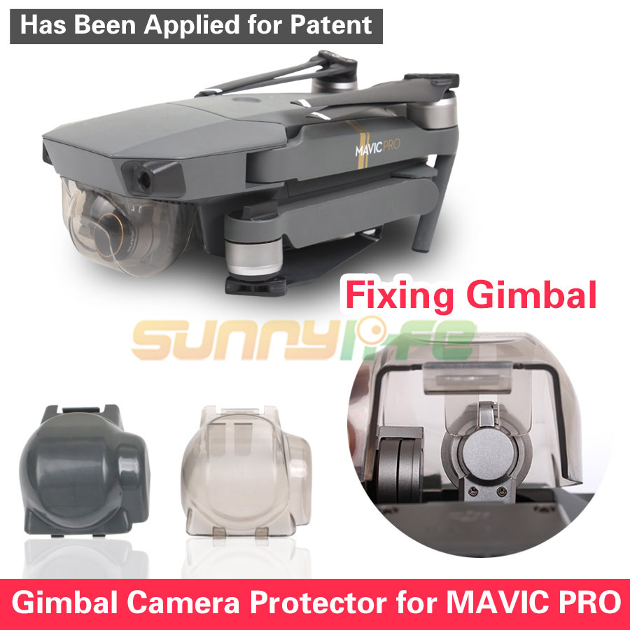 Sunnylife Gimbal Camera Protective Cover Lens Cap for DJI MAVIC PRO Gimbal Lock Guard Can Fix Gimbal