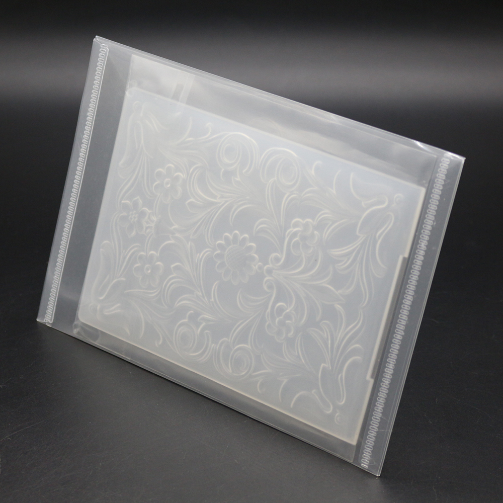 New Arrive 5PCS Resealable Storage Case For Cutting Dies Stencil Album Stamp Crafts Clear Plastic Seal Bags 18x13cm