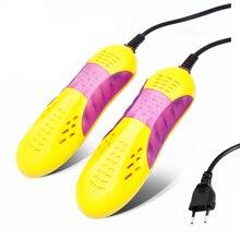 NTNT Rennwagen Form Voilet Licht Schuhtrockner Fußschutz Boot geruch Deodorant Gerät Schuhe Trockner Heizung 220 V 10 Watt EU Us-stecker