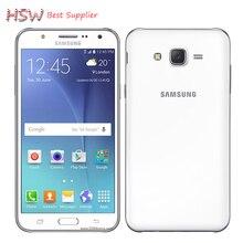 Оригинал Оригинал Разблокирована Samsung Galaxy J5 Quad Core Dual Sim Карты 13.0MP 16 ГБ ROM + 1.5 ГБ RAM 4 Г LTE Snapdragon 410 Смартфон