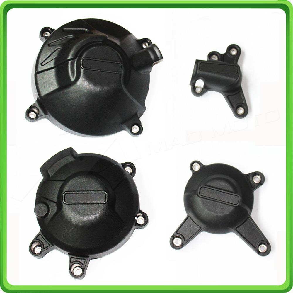 Motorcycle Engine Case Cover Slider / Protector Set for Yamaha MT09 FZ09 MT-09, FZ-09, TRACER & SCRAMBLER 2014 2015 2016 2017 for yamaha fz 09 fz09 fz09 mt 09 mt09 mt 09 2014 2015 motorcycle engine protector guard cover frame slider
