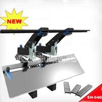 1pc Upgraded dual use manual stapler SH 04G Stapler Easy conversion design large Saving type stapler