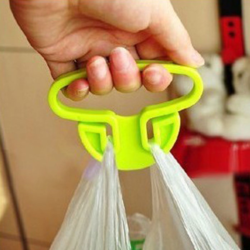 Top Quality A Good Helper Of Multifunctional Bag Holder Device For Plastic Shopping Bags Dropshipping 9.3x6.7x1.2cm J620