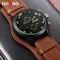 CURREN 8225 Men Military Sport Quartz Watches Mens Brand Luxury Leather Strap Waterproof Male Clock Wristwatch