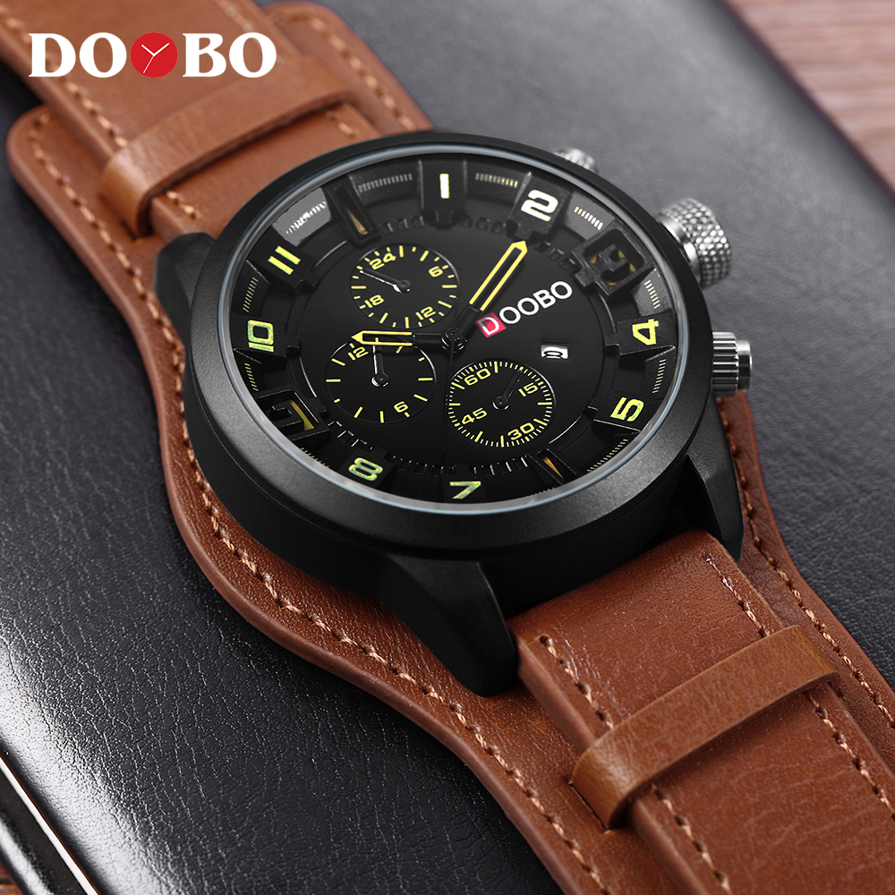 CURREN 8225 Men Military Sport Quartz Watches Mens Brand Luxury Leather Strap Waterproof Male Clock Wristwatch Relogio Masculino