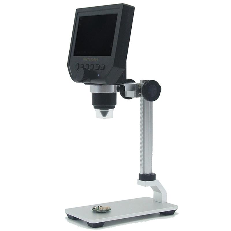 """1 600x 3.6MP USB デジタル電子顕微鏡ポータブル 8 LED VGA 顕微鏡 4.3 """"HD OLED スクリーン Pcb のマザーボード用修理  グループ上の ツール からの 楽器パーツ & アクセサリー の中 3"""