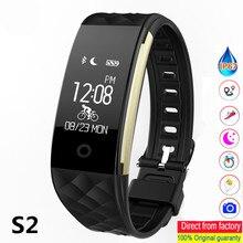 S2 חכם צמיד GPS מסלול תנועה חכם צמיד קצב לב צג IP67 ספורט כושר Tracker צמיד Bluetooth חכם להקה