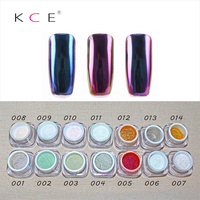 New 12 Colors Mirror Powder Gold Pigment Ultrafine Powder Dust Chrome Pigment Nail Glitters Sequins Nail