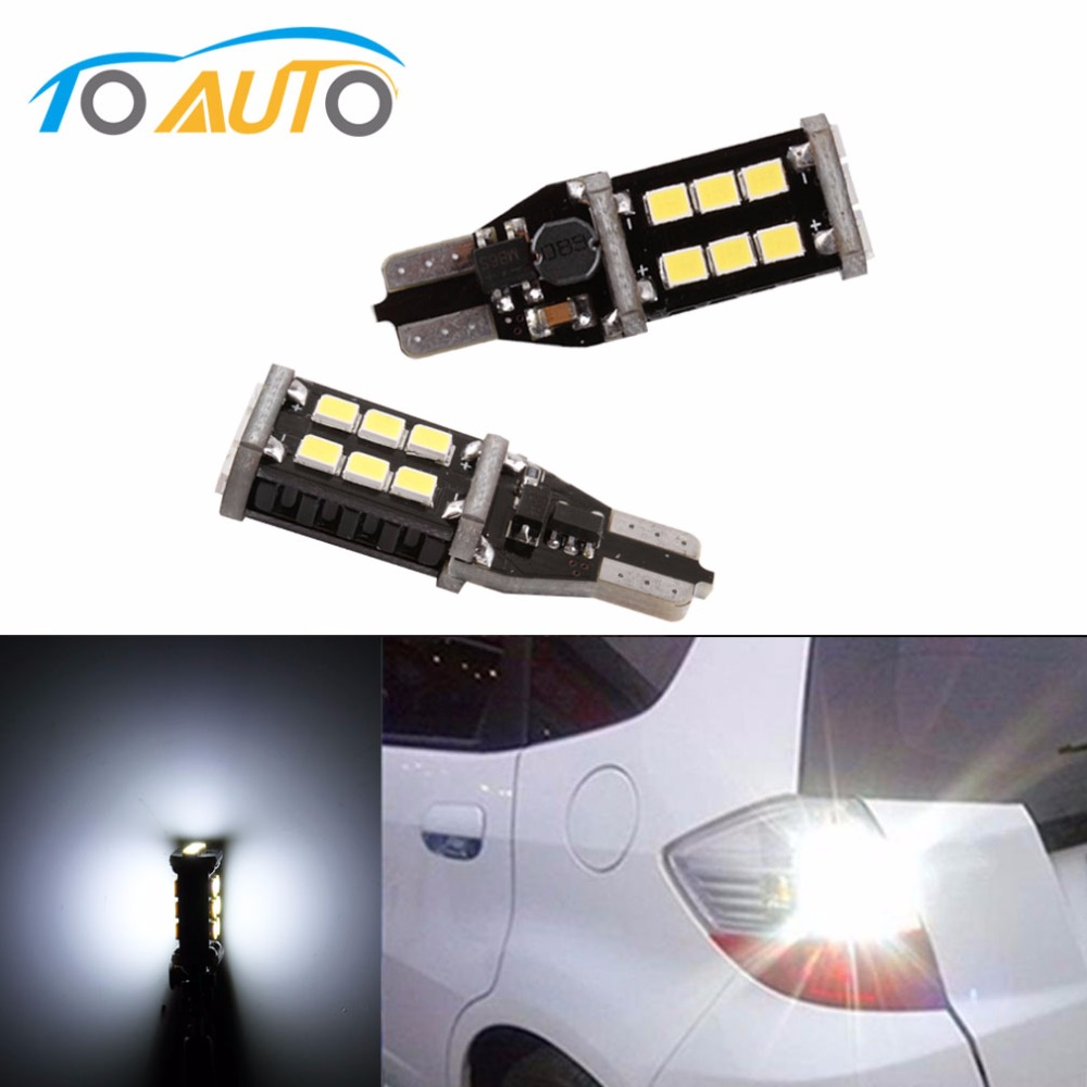 T10 45 4014 SMD Super Brightness LED Car Light Bulbs,Replacement Bulbs for Backup Reverse Lights Turn Signal Lights,Pack of 2