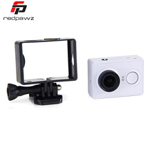 Portable Plastic Frame Mount Stand-alone Version For Xiaomi yi Sports Camera