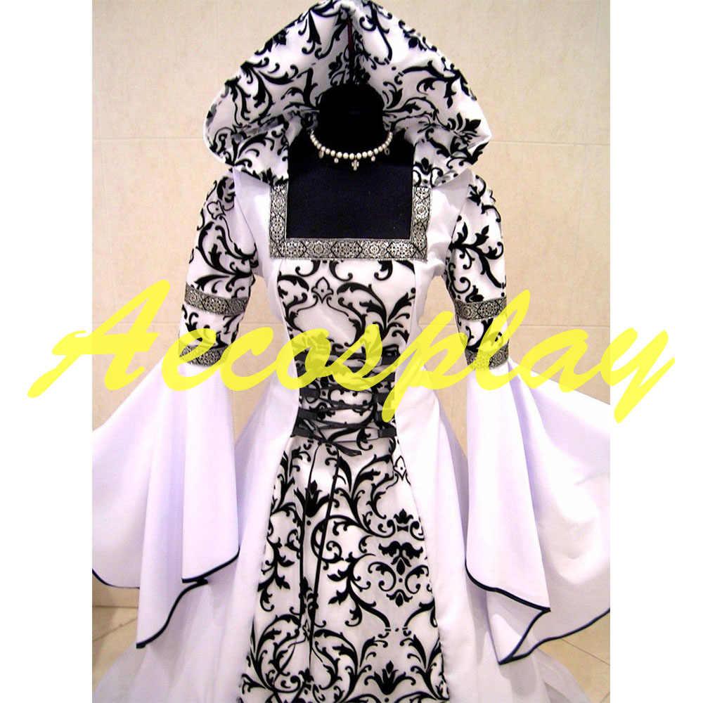 1f79d74c8c4 ... Medieval Victorian Renaissance Gothic Wedding Dress Vampire Cos Costume  S-3XL ...