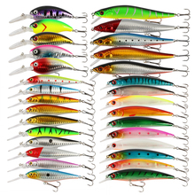 Goture Fishing Lure Set Kit Minnow Popper Crankbait Wobblers Spinner Isca Artificial Bait For Sea Lure Fishing Pesca