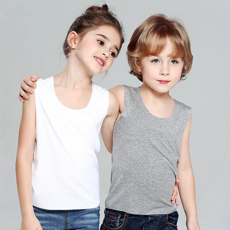 Bambini Modello Di Biancheria Intima Della Maglia Per Le Ragazze 2019 Serbatoio Magliette E Camicette Del Bambino Della Ragazza 9414
