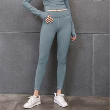 Hot Selling Sexy High Waist Yoga Pants Leggings Gym Wear Stretch Breathable Tights For Women