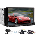 Wireless CAM SD Car DVD Radio Vehicle Parts USB Head Unit In Dash CD Video Stereo Accessory Bluetooth Audio Multimedia