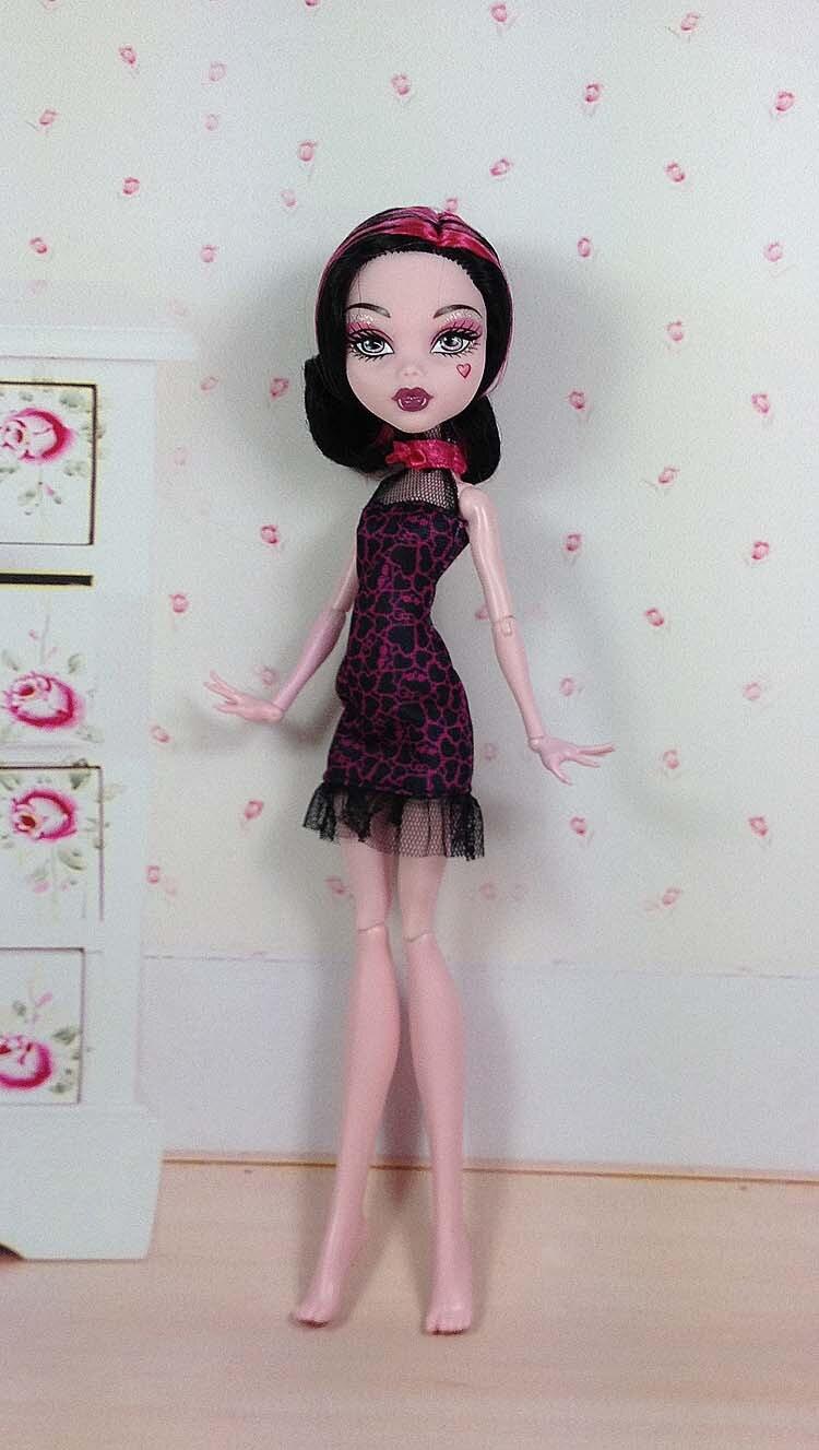 Ny docka kropp och docka huvuden för Original monster.toys dockor, - Dockor och tillbehör - Foto 1