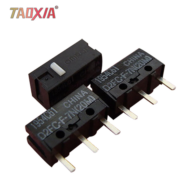 1 Pcs OMRON D2FC-F-7N 10m OF 20m 3M 50m D2FC-FL-NH D2F-F D2F-F-3-7 D2F-01 D2FS-F-N D2FC-7-HH Mouse Micro Switch Alloy Contacts