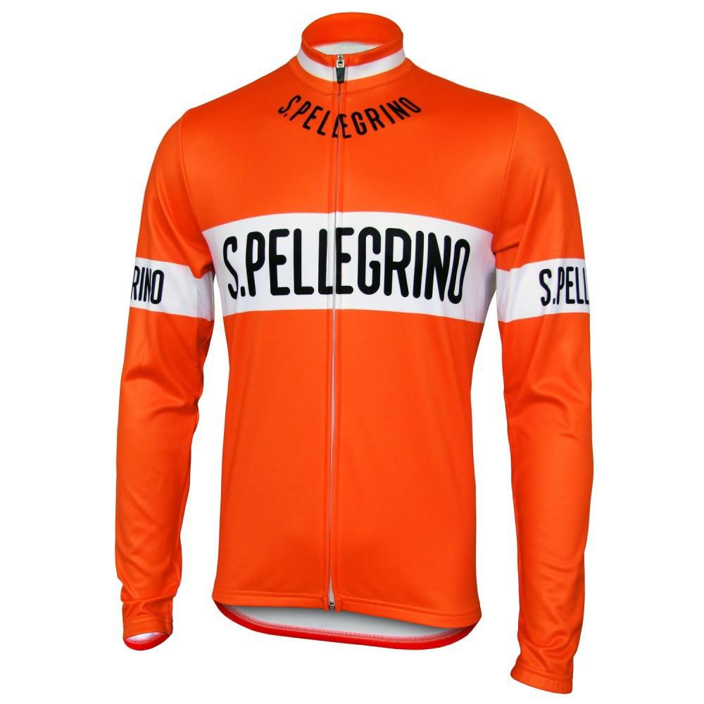 Prix pour Hommes équitation Vélo Vêtements porter à manches longues Clothing vélo jersey 2017 pro équipe ROUTE Vélo de Course Vélo Clothing Vêtements