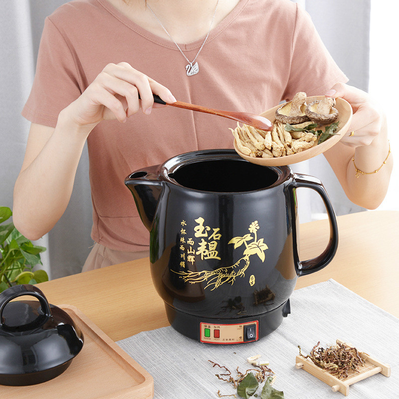 Medicine pot automatic separate electric medicine pot ceramic decoction pot health care pot Electric kettles new automatic decocting pot chinese medicine pot medicine casserole ceramic electronic medicine pot medicine pot electric kettle