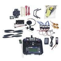 Full Set RC Drone Quadrocopter 4 axis Aircraft Kit F330 MultiCopter Frame 6M GPS APM2.8 Flight Control Flysky FS i6 TX F02471 D