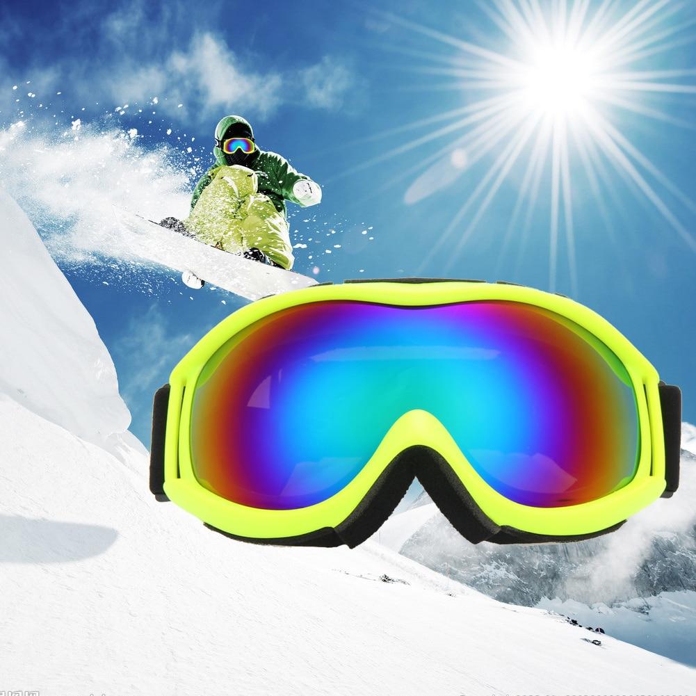 Prix pour 4 Style de Ski Lunettes Double UV400 Anti-brouillard Grand Masque de ski Lunettes de Ski Hommes Femmes Unisexe Neige Snowboard Lunettes ski Lunettes