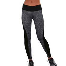 2016 Women's Casual Breathable Leggings Women Two-Sided High Waist Elastic Fitness Leggings Workout Clothes Women Pants