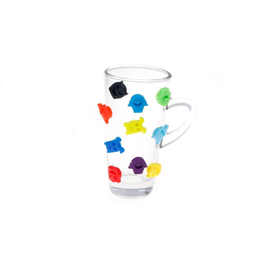 Marker Wine Marker Glass Rubber Tongue Wine Glasses Recognizer Silicone Label