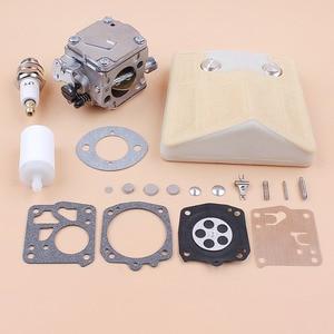 Image 4 - Carburetor Carb Air Filter Diaphragm Repair Kit fit Husqvarna 61 66 266 503280316 Chainsaw Tillotson HS 254B Carburetor RK 23HS